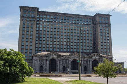 A storied train station will anchor Ford's new high-tech Detroit campus
