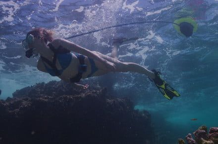 You don't need scuba certification to use this clever crowdfunded diving system