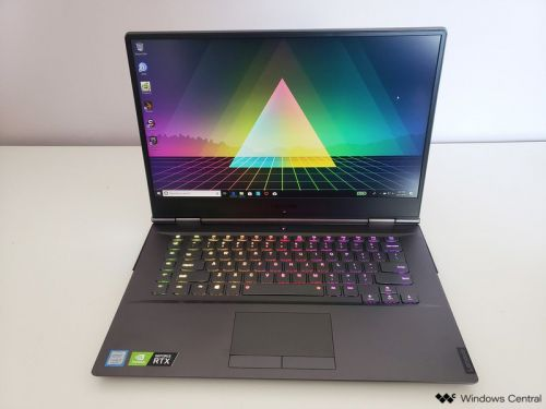 The 15-inch Lenovo Legion Y740 is an outstanding gaming laptop