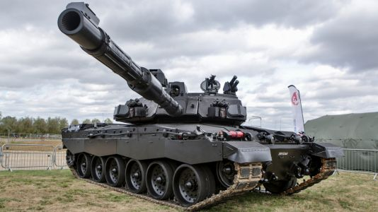 The British Army's main battle tank gets a 'dark mode' for night fighting