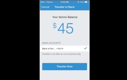 Venmo instant transfer suddenly stops working