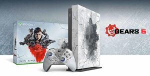 Microsoft unveils limited edition Gears 5-themed Xbox One X