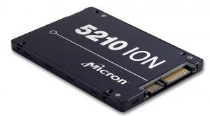 Micron's 5210 Ion Enterprise SSD Packs Industry's First QLC NAND