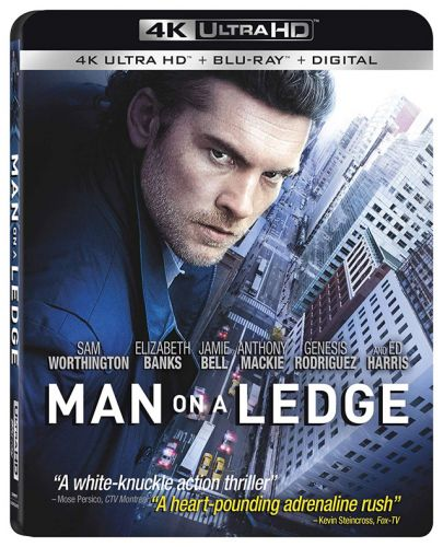 'Man on a Ledge' 4K Ultra HD Coming April 9th