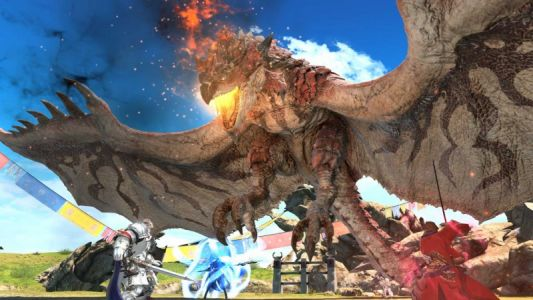 Final Fantasy XIV: Stormblood's Monster Hunter: World Crossover Is Coming In August