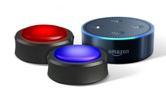 You can preorder Echo Buttons to make Alexa a gameshow host