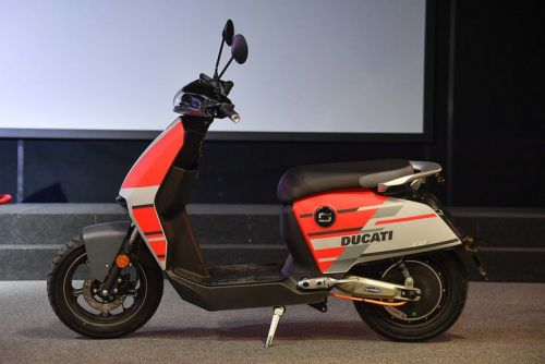 Super Soco and Ducati partner for special edition all-electric CUx Scooter