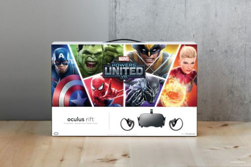 Oculus will start selling a Rift bundle with Marvel Powers United VR next week
