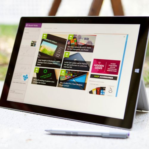 Save on a refurbished Microsoft Surface Pro 3 with Type Cover and stylus