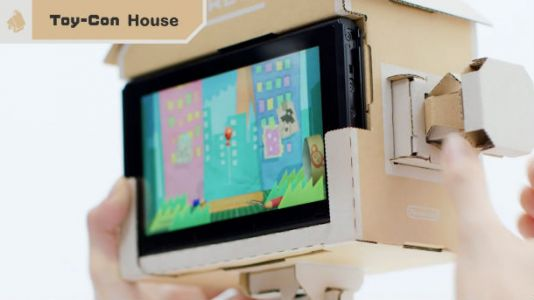 New Nintendo Labo Videos Detail How The Cardboard Comes To Life