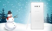 Samsung Galaxy Note9 Pure White arriving on November 23