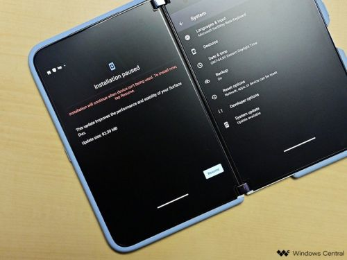 Surface Duo's October 2021 Android security update has arrived
