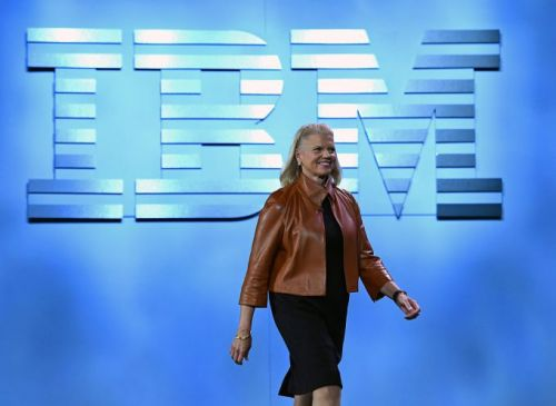 IBM's year-over-year revenue didn't decline in the last quarter