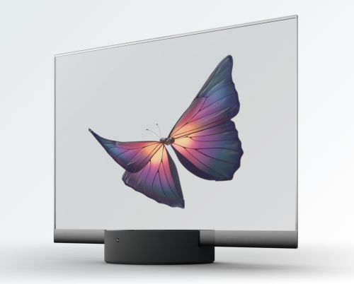 Xiaomi has just launched a transparent OLED TV. Yes, you read that right!