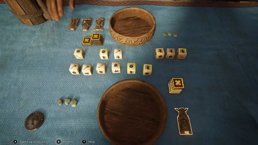 Assassin's Creed Valhalla's dice minigame comes to the real world next year