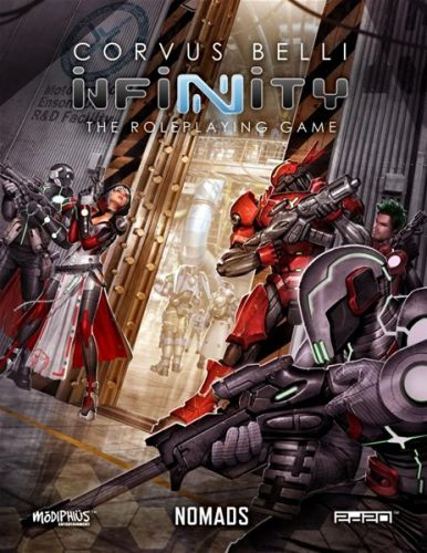 Nomads and PanOceania Books For Infinity RPG Now Available As PDF