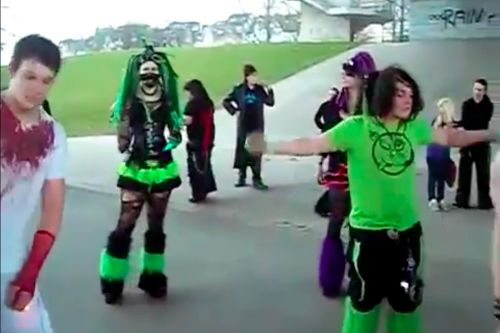 Happy World Goth Day: an ode to the cybergoth dance meme, one of the best memes