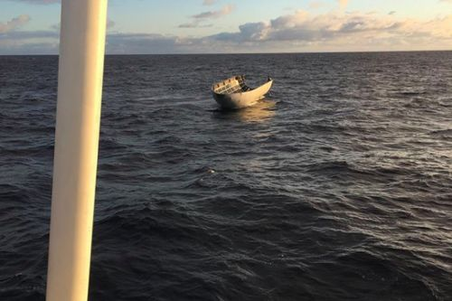 SpaceX tried to catch its rocket nose cone with a giant net - and just missed