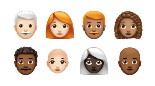 Apple's next set of iOS emoji is all about hair