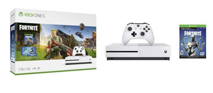 Fortnite Xbox One Bundle Comes With Skins, V-Bucks, And More In The US
