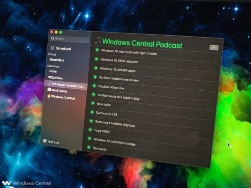 How to sync Microsoft To-Do and Cortana Reminders with macOS