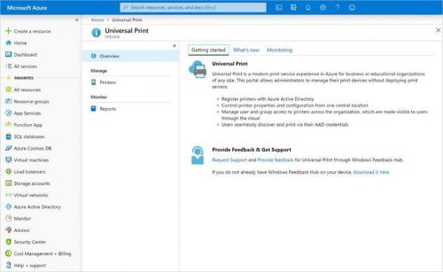 Microsoft's new Universal Print service is now generally available