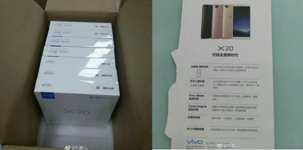 Vivo X20 Specs Reveal Face Wake And 2K Display
