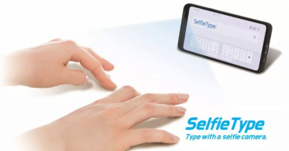 CES 2020: Samsung SelfieType Is an Invisible Mobile Keyboard