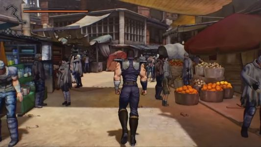 First Gameplay Footage For FIST OF THE NORTH STAR Game Looks Amazing