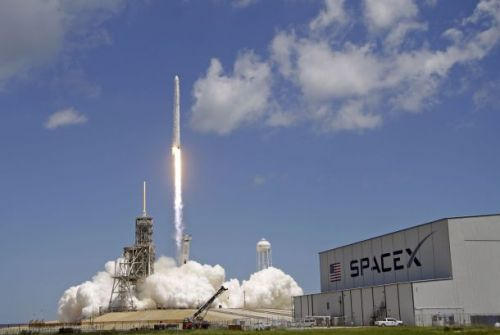 Watch live as SpaceX launches the first of nearly 12,000 internet satellites into space