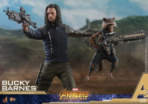 Hot Toys Shows Off Their AVENGERS: INFINITY WAR Bucky Barnes Action Figure