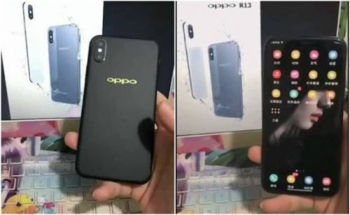 Oppo R13 Clones the iPhone X With a Similar Notch, Back Camera