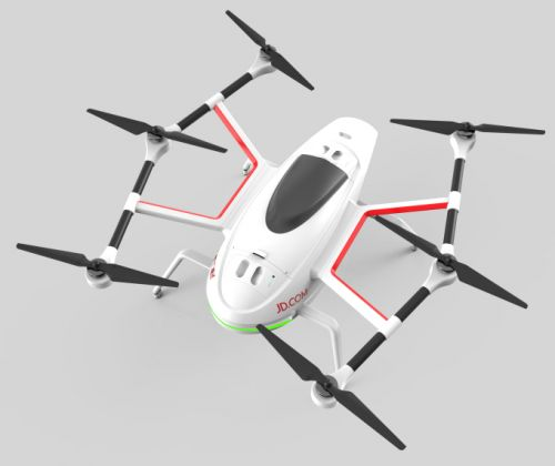 JD X taps Nvidia for drone deliveries, rescue and agricultural use