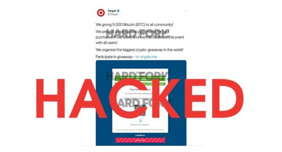 Breaking: Target hacked to promote Bitcoin scam