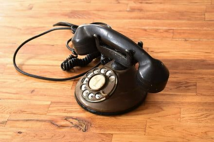 These Alexa-stuffed retro phones don't listen until you take them off the hook