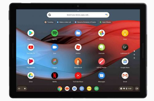 Google Pixel Slate is a new Chrome OS tablet with 12.3-inch 3000x2000 display