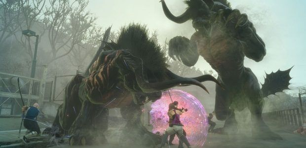 Final Fantasy XV's co-op expands with its PC launch