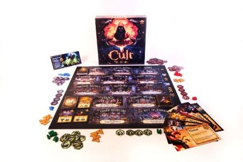 Cryptozoic To Launch Cult: Choose Your God Wisely Board Game Kickstarter