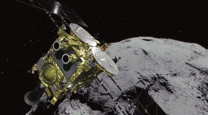 Japan's Hayabusa 2 Probe Is About to Shoot an Asteroid