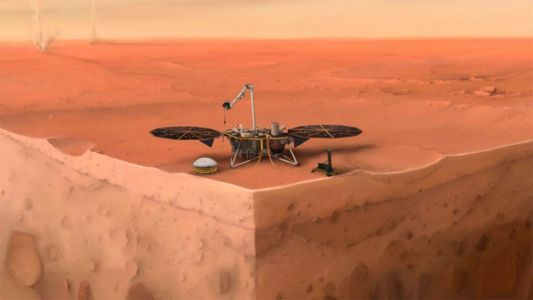NASA's InSight probe reveals the first detailed look at the interior of Mars