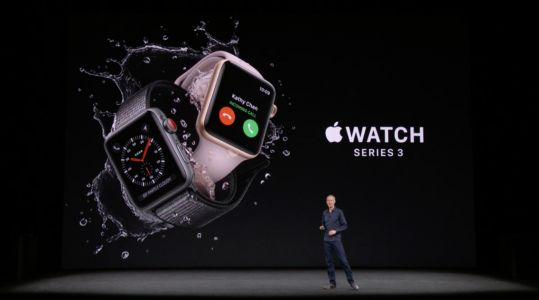 Apple Watch Series 3 makes official debut with built-in cellular connectivity