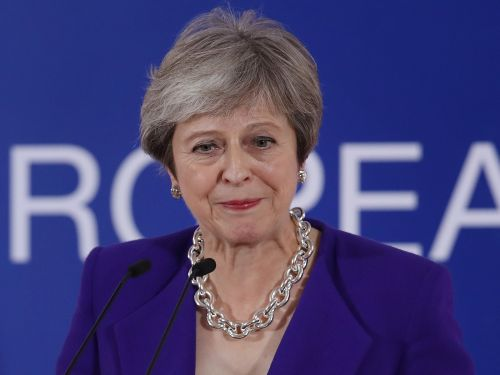 A shadowy group spent £257,000 on Facebook ads asking people to drive a knife into Theresa May's Brexit plan