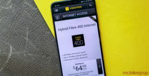 Vidéotron now offers unlimited internet at 400Mbps for $65