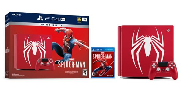 Spider-Man Is Getting His Own Awesome PS4 Bundle