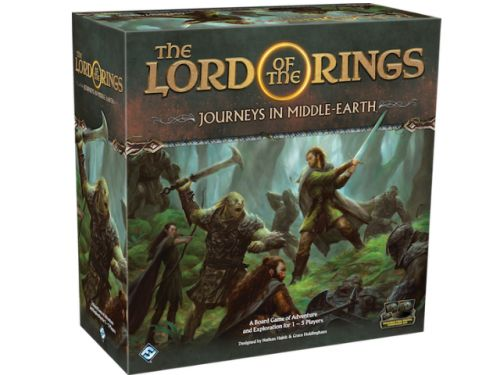 Fantasy Flight Announces App-Driven LORD OF THE RINGS Cooperative Game