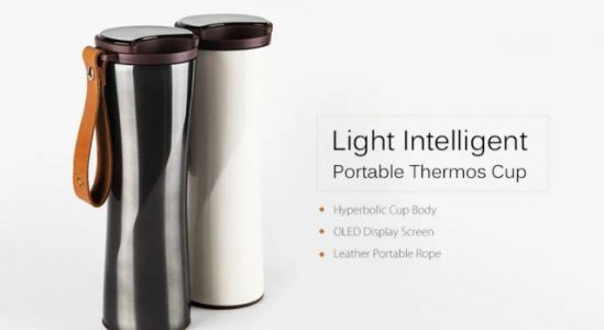 Xiaomi Portable Intelligent Thermal Vacuum Water Bottle From $29.99