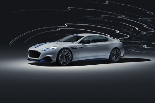 Aston Martin's first electric car is finally here