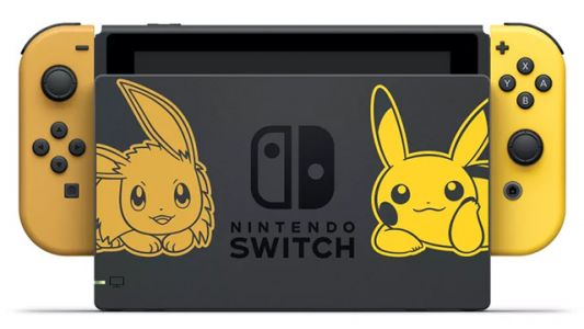 Daily Deals: Pokemon, Let's Go! Themed Nintendo Switch, The Best 55