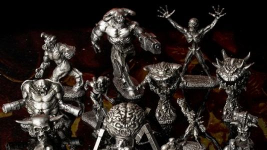 Bethesda Brings The 1997 Doom Miniatures Back From Hell