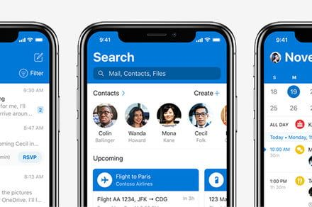 Microsoft Outlook for iOS gets big redesign, with Dark Mode coming soon